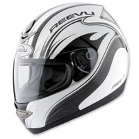 Reevu MSX1 Graffic Rear View Full Face Helmet