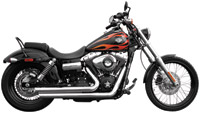Rush Crossover Series Chrome Slash Down Exhaust System