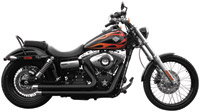 Rush Crossover Series Black Straight Cut Exhaust System