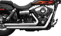 Rush Crossover Series Chrome Straight Cut Exhaust System