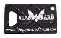 Stand Guard Major Bottle Opener Kickstand Plate