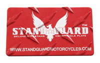 Stand Guard General Diamond Plate Kickstand Plate