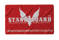 Stand Guard Major Diamond Plate Kickstand Plate