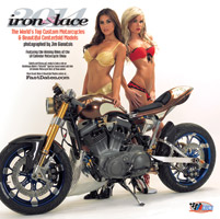 2014 Iron & Lace 16 Month Calendar