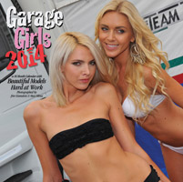 2014 Garage Girls 16 Month Calendar