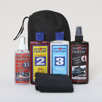 Cycle Care Riders Choice Travel Cleaning Kit