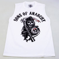 Sons of Anarchy Reaper Crew Sleeveless Muscle T-shirt