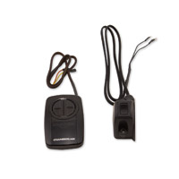 Grip Switch Black/White Garage Door Kit