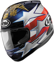 Arai Corsair V Edwards Patriot Full Face Helmet