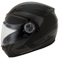 Scorpion EXO-500 West Dark Silver Full Face Helmet