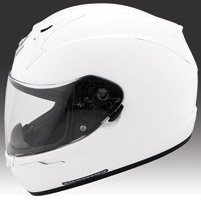 Scorpion EXO-R410 White Full Face Helmet