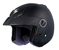 Scorpion EXO-250 Matte Black Open Face Helmet