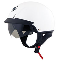 Scorpion EXO-C110 White Half Helm