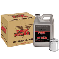 Twin Power Quick-Change Synthetic Oil Kit For Twin Cam
