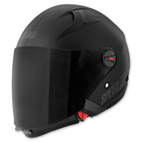 Speed and Strength SS2200 Matte Black Spin Doctor Helmet