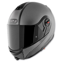 Speed and Strength Silver Carbon Lock and Load SS1700 Helmet
