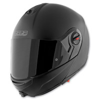 Speed and Strength SS1700 Solid Speed Matte Black Modular Helmet
