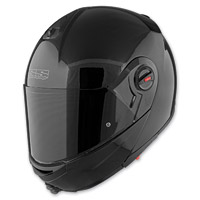 Speed and Strength SS1700 Solid Speed Gloss Black Modular Helmet