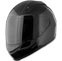 Speed and Strength SS700 Solid Speed Gloss Black Full Face Helmet