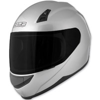 Speed and Strength SS700 Solid Speed Silver Full Face Helmet