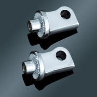 Kuryakyn Chrome Splined Adapters