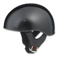 GMAX GM65 Naked Gloss Black Half Helmet
