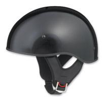 GMAX GM65 Naked Gloss Black Half Helmet