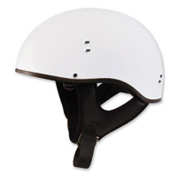 GMAX GM65 Naked Flat White Half Helmet