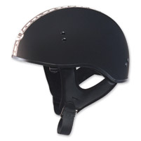 GMAX GM65 Naked Dual Flat Black/Antique White Half Helmet