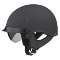 GMAX GM65 Full Dress Flat Black Half Helmet