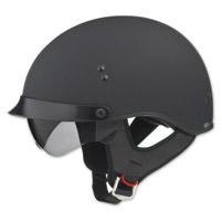 GMAX GM65 Full Dress Flat Black Half Helmet