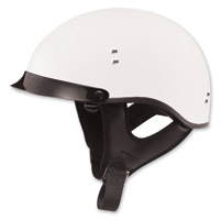 GMAX GM65 Full Dress Flat White Half Helmet