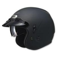 GMAX GM32 Open Face Flat Black Helmet