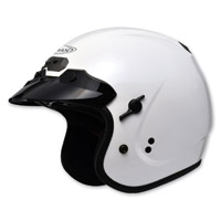 GMAX GM32 Open Face Pearl White Helmet