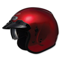 GMAX GM32 Open Face Candy Red Helmet