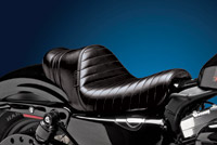 Le Pera Stubs Spoiler Seat - Black Stripes