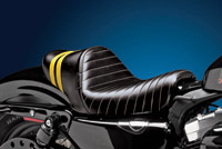 Le Pera Stubs Spoiler Seat - Yellow Stripes