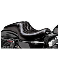 Le Pera Daytona Diamond Stitch Seat
