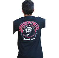 Crank & Stroker Supply Men's Horsepower Black T-Shirt