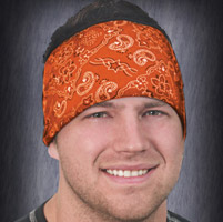 That's A Wrap Orange Bandana Knotty Band