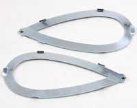 V-Twin Manufacturing Gas Tank Emblem Mount Strips