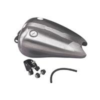 Drag Specialties Extended Smooth-Top Fat Bob Gas Tank