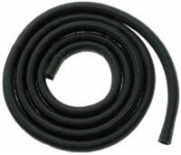 J&P Cycles® Black Nylon Braided Fuel and Oil Hose