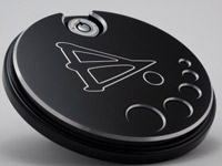 Battistinis Black Fuel Door Cover for FLHT, FLT and  Street Glide