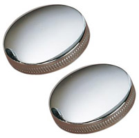 J&P Cycles® Original-Style Gas Cap Set