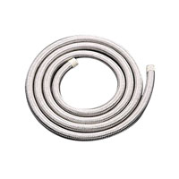 J&P Cycles® Stainless Steel Braided Fuel and Oil Hose