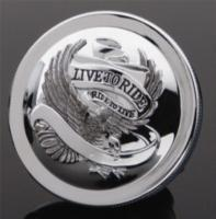 J&P Cycles® 'Live to Ride' Gas Cap