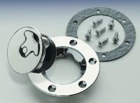 J&P Cycles® Bolt-In Non-Locking Replacement Aircraft Gas Cap