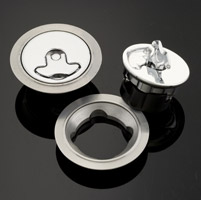 Aircraft Gas Cap Set, Non-Locking