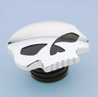 J&P Cycles® Chrome Skull Gas Cap